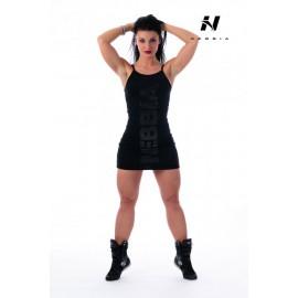 Dámské fitness šaty Nebbia Suplex 219 - černé