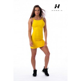 Dámské fitness šaty Nebbia Suplex 219 - žluté