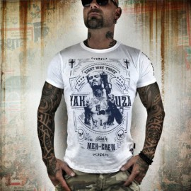 Pánské tričko Yakuza Mex Crew TSB 8021 - bílé