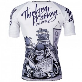 Rashguard TATAMI Fightwear - Thinker Monkey kr. rukáv