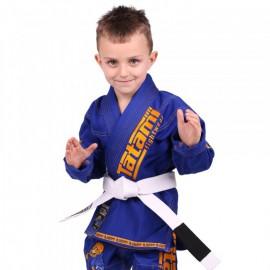 Dětské kimono na BJJ MEERKATSU ANIMAL GI - ROYAL BLUE