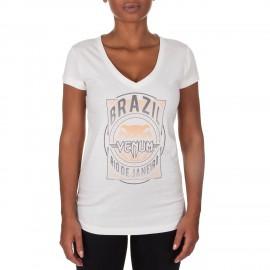 Dámské tričko VENUM Carioca 4.0 - bílé