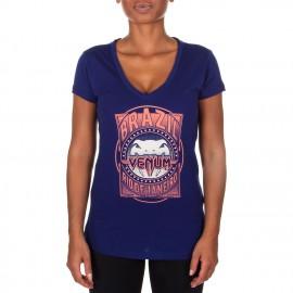 Dámské tričko VENUM Carioca 4.0 - modré