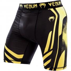 Kompresní trenýrky VENUM Technical - černo/žluté