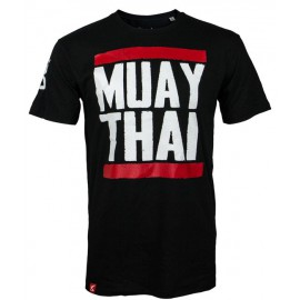 Pánské Muay Thai tričko 8 weapons Run - černé