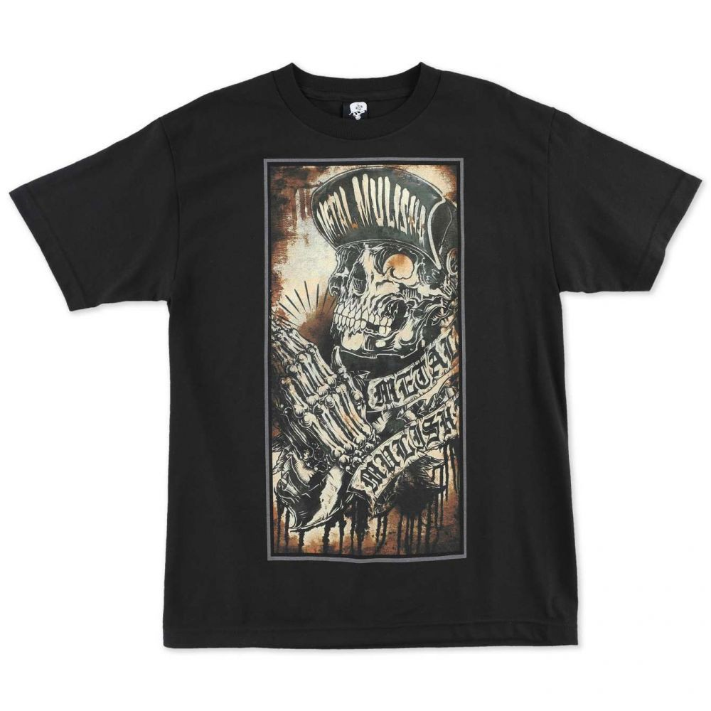 Pánské triko Metal Mulisha PRAY - černá