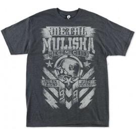 Pánské triko Metal Mulisha CHALK - šedé