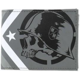 Peněženka Metal Mulisha DISSOLVE - šedá