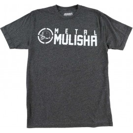 Pánské triko Metal Mulisha ID MOCK TWIST - antracitové