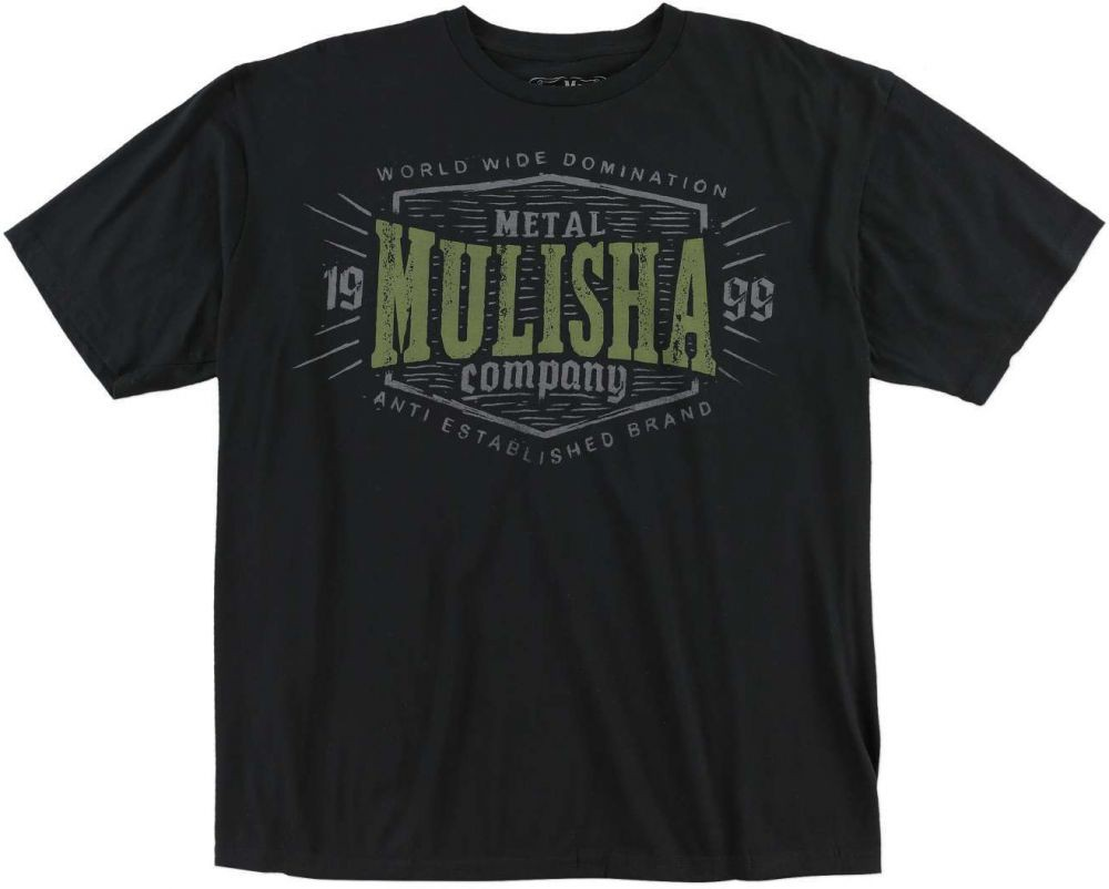 Pánské triko Metal Mulisha CARVE - PREMIUM - černé