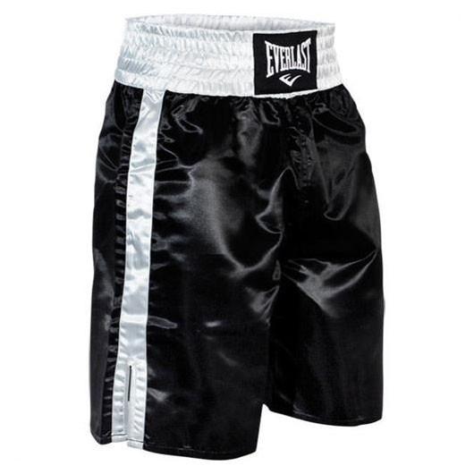 Boxerské trenky Everlast PROFI - černo/bílé