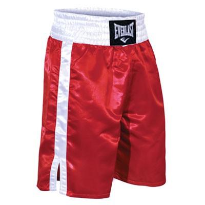 Boxerské trenky Everlast PROFI - červeno/bílé