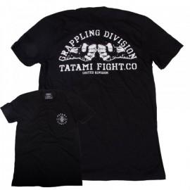 Tričko TATAMI Fightwear Grappling Division - černé