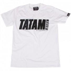 Tričko TATAMI Fightwear Logo - bílé
