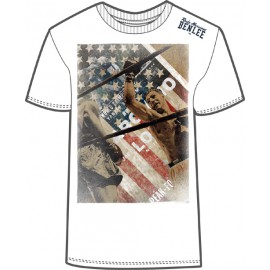Pánské triko Benlee Rocky Marciano ROPES - bílé