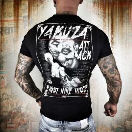 Yakuza Pánské tričko Attack TPO 8068 - černé