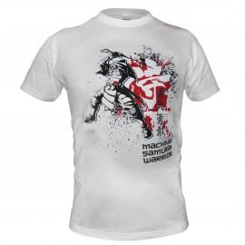 Triko Machine Samurai - bílé