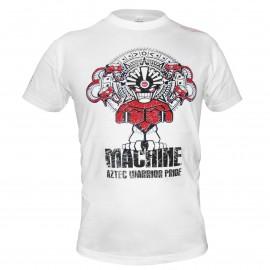 Triko Machine AZTEC - bílé