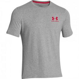 Pánské sportovni triko Under Armour Left - světle šedé