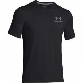 Pánské sportovní triko Under Armour Left - šedo/černé