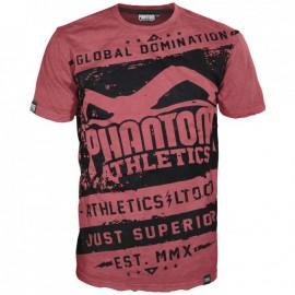 "Pánské tričko Phantom Walkout"" - červeno /černé"