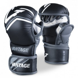 """VANTAGE MMA rukavice """"Combat Sparring""""- černé"""