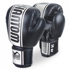 """PHANTOM Boxerské rukavice """"MT-Pro"""" - černo/bílé"""