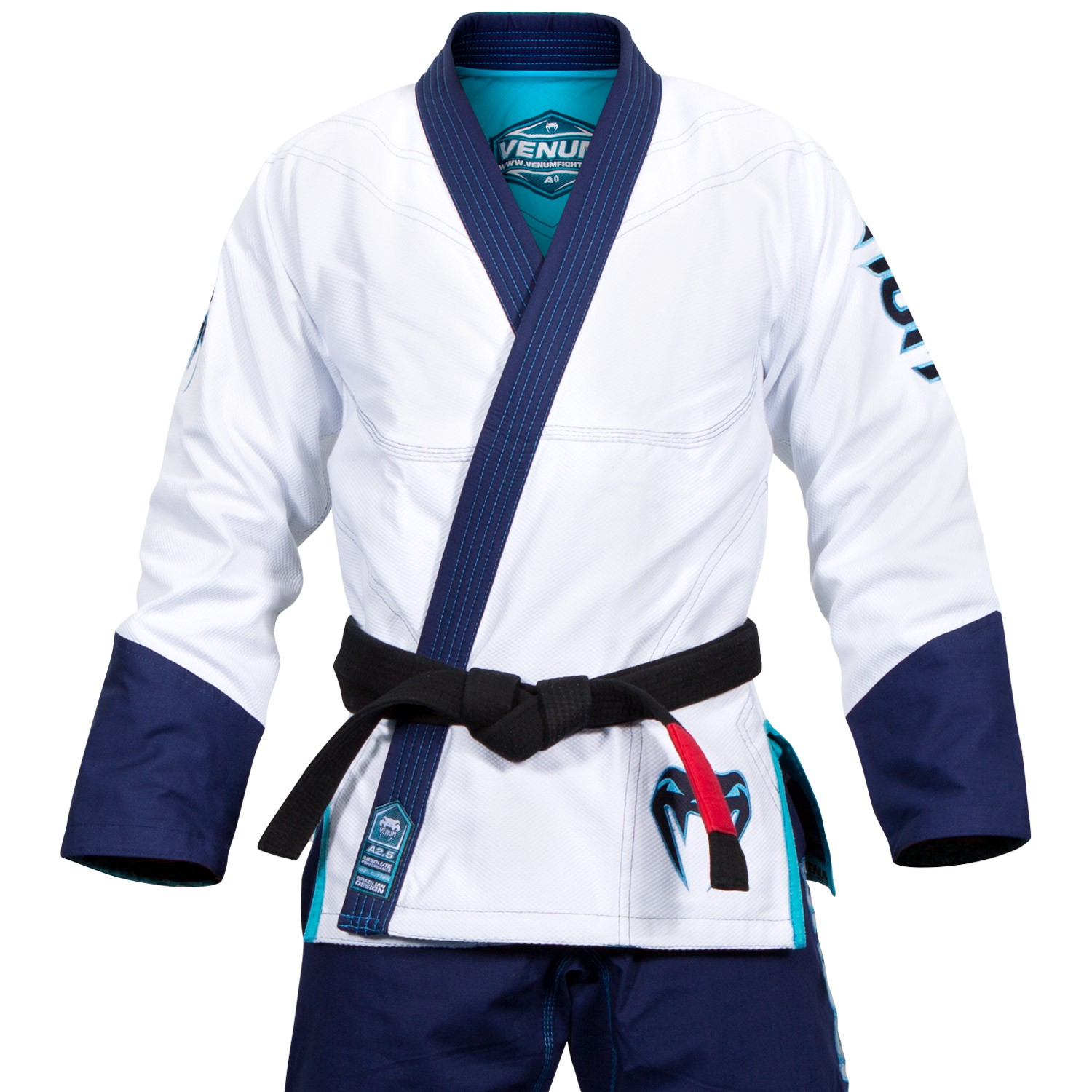Venum Absolute KOI BJJ GI - White / Navy Blue