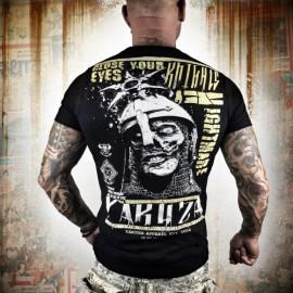 Pánské tričko YAKUZA Nightmare TSB 9009 - černé