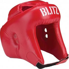 BLITZ Přilba SEMI FACE Boxing - Červená