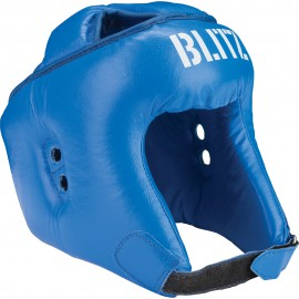 BLITZ Přilba SEMI FACE Boxing - Modrá