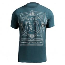 Tričko HAYABUSA Warrior Code - modré
