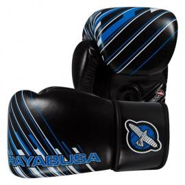 Boxerské rukavice HAYABUSA IKUSA Charged 12OZ - černo/modré