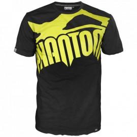 """Pánské tričko Phantom """"Supporter"""" - černo/neonové"""