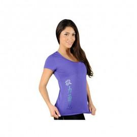 Dámské tričko Jaco Kanji Performance - Blue Iris