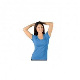 Dámské tričko JACO Authentic Performance - Indie Blue