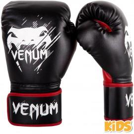 Dětské Boxerské rukavice VENUM Contender - černo/červené