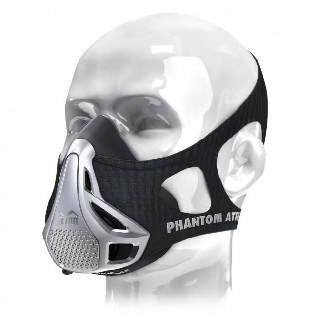 Tréninková maska Phantom 2.0 - silver
