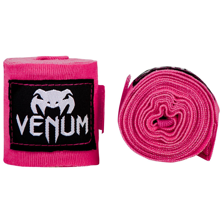 Boxerské bandáže značky VENUM KONTACT - 2,5 m NEO růžové