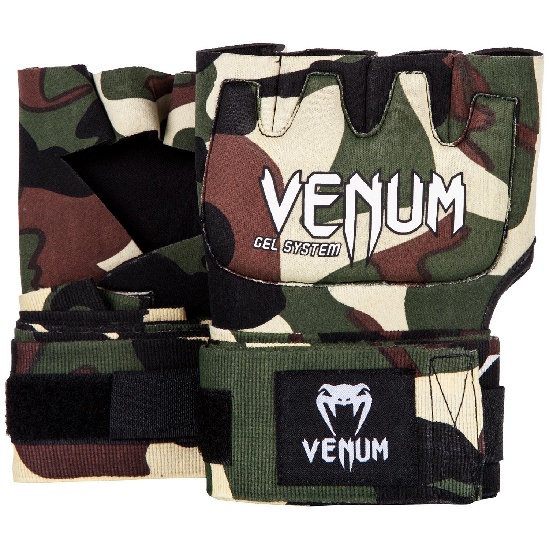 Venum rukavice Gel Kontact - FOREST CAMO