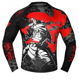 Rashguard MACHINE Samurai dl.rukáv