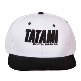 Kšiltovka TATAMI Snapback Jiu Jitsu - Bílo/černá