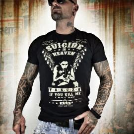 Pánské tričko YAKUZA Suicide in Heaven TSB 9051 - černé