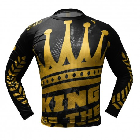 Rashguard MACHINE KING OF THE RING dl.rukáv