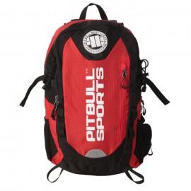 PitBull West Coast - sportovní batoh PB SPORTS - černo/červený