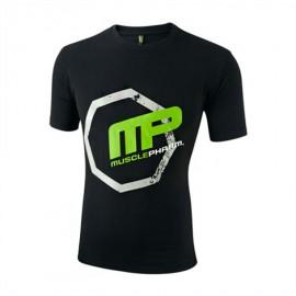 MUSCLEPHARM Pánské triko OCTAGON - černé