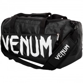Sportovní taška VENUM SPARRING SPORT - černo/bílá