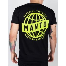 Manto tričko MOVEMENT - černé