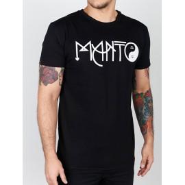 Manto tričko BALANCE - černé