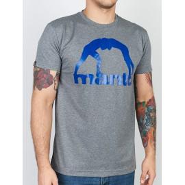 Manto tričko VIBE - šedé